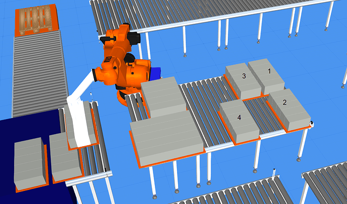 Simulation Conveyor