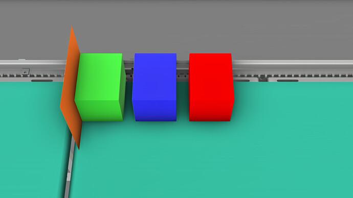 Conveyor offset